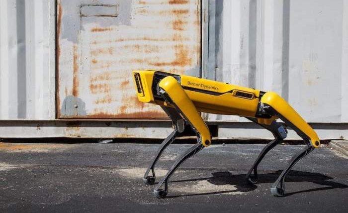 Spot, робот, нефтяная платформа,
