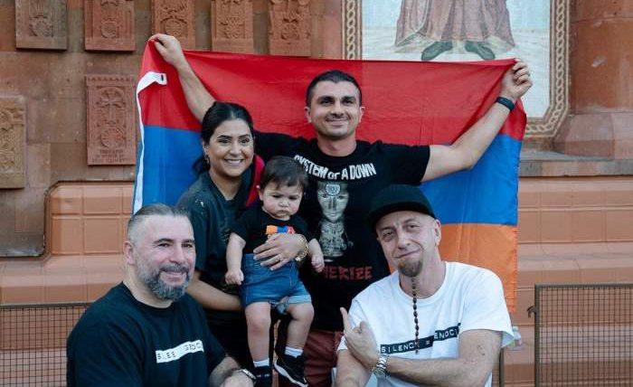 System of a Down, клип, Армения,