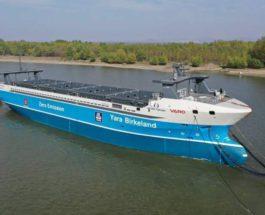 Yara Birkeland, судно, Автономный грузовой электроход,