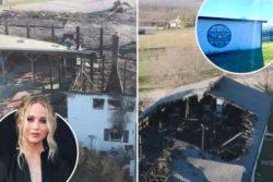 Семейная ферма Дженнифер Лоуренс в Кентукки сгорела в сильном пожаре