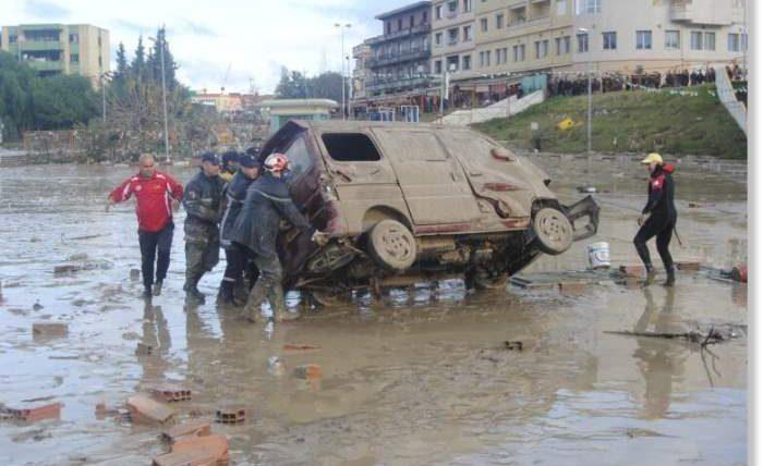 Алжир, наводнение,
