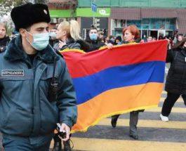 Армения, кризис,