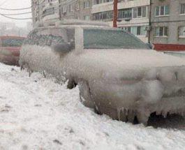Ледяной шторм, Харьков, Украина, погода,