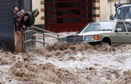 Мадейра, шторм,