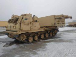 В Польшу прибывают реактивные системы залпового огня армии США
