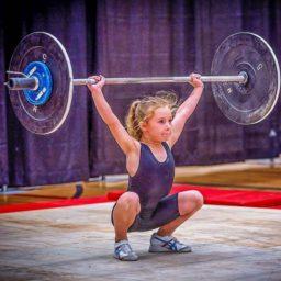 Рори ван Ульфт, девочка, тяжелая атлетика,