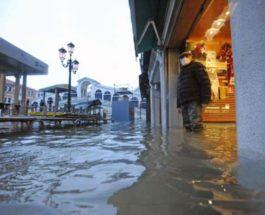Сан-Марко, площадь, Италия, наводнение,