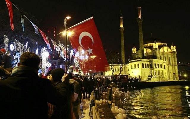 Турция, новый Год,