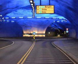 Фарерские острова, туннель, подводная дорога,