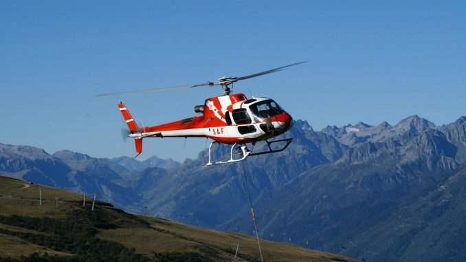 Франция, Альпы, вертолет, крушение,