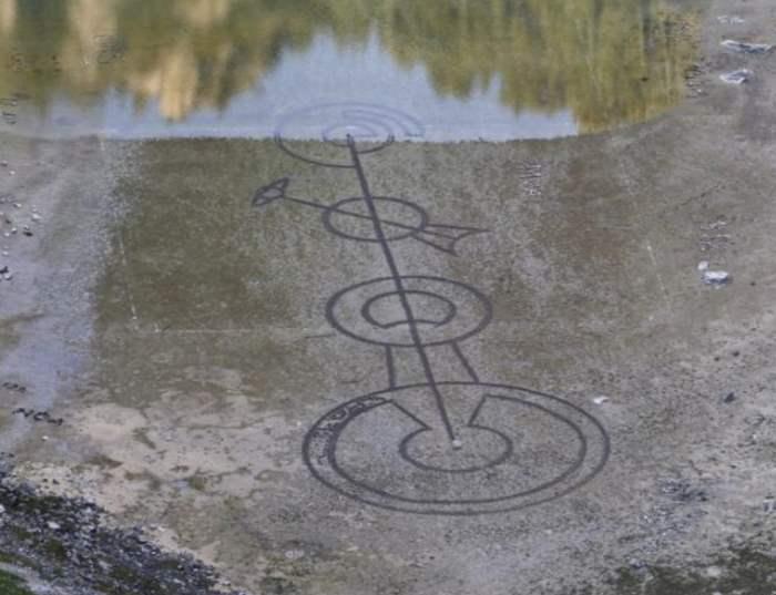 Хорватия, озеро, символ, Круги на полях,