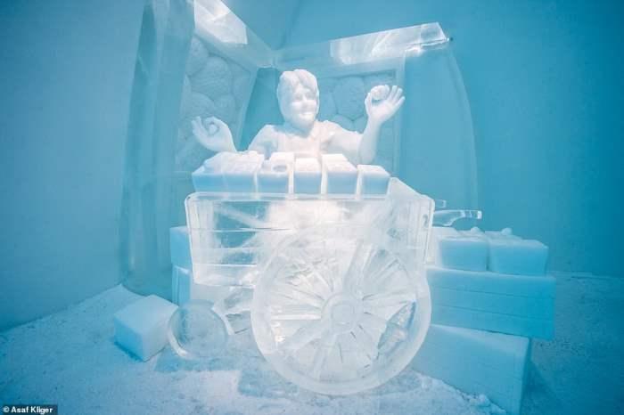 Шведский отель, Icehotel, Швеция,