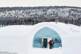 Швеция, ледяной отель,