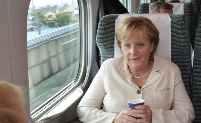 ангела меркель поезд