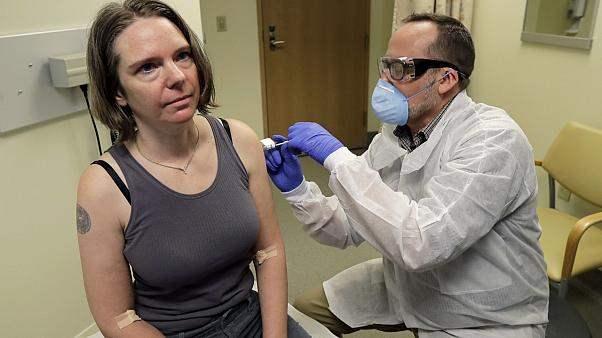 вакцинация, США, коронавирус,