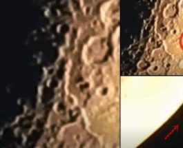 луна, НЛО,