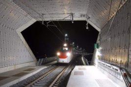 пассажирские поезда, Альпы,