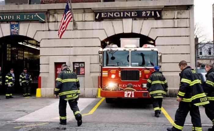 пожарные, Нью-Йорк, вакцинация,