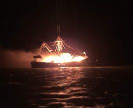 пожар, судно, Алабама,