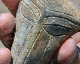 пришелец, маска, Болгария, раскопки, маски инопланетянина,