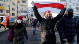 протесты, Беларусь,