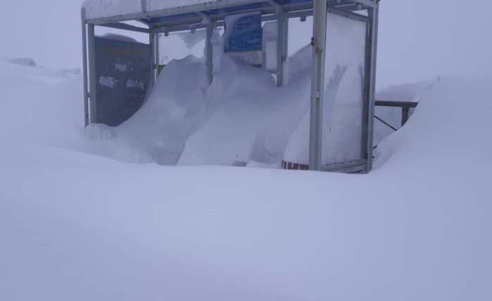 снег, Норильск,