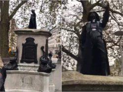 В Бристоле установили статую Дарта Вейдера (ФОТО)