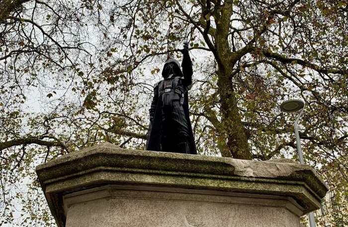 статуя, Дарт Вейдер, Бристоль,