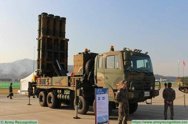 Cheongung 2, ПВО, Южная Корея,