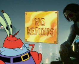 Cyberpunk 2077, возврат денег, PS4, консоли,
