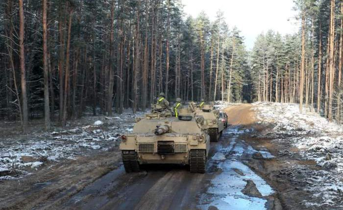 M1 Abrams, Литва, Беларусь, танки,