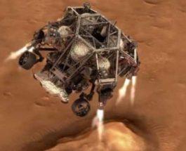 Perseverance, марсоход, НАСА, приземление,