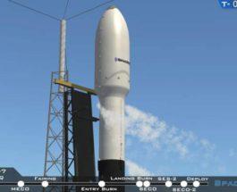 SpaceX, ракета, спутник, запуск,