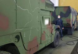 Армия США перекрашивает свою военную технику в зеленый камуфляж