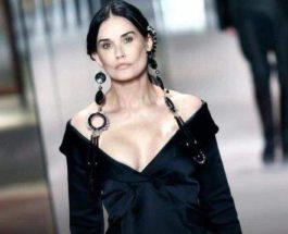 Деми Мур, Парижская неделя высокой моды,