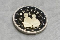 В благодарность медикам: Италия выпустила монету с надписью «Спасибо!» (ФОТО)
