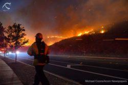 В Калифорнии вспыхнули лесные пожары (ФОТО и ВИДЕО)