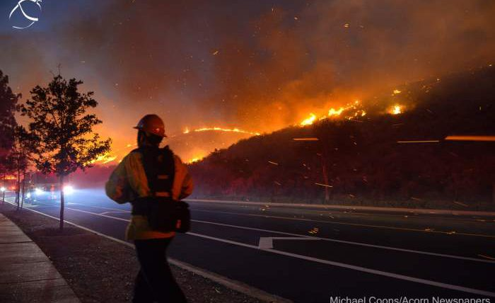 Калифорния, пожары, Сан-Хасинто,