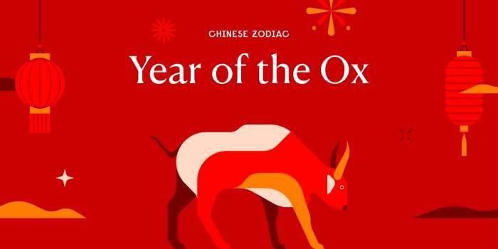 Китайский гороскоп, год быка, металлический бык,