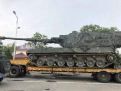 Новая китайская 155-мм самоходная гаубица замечена на дорогах общего пользования