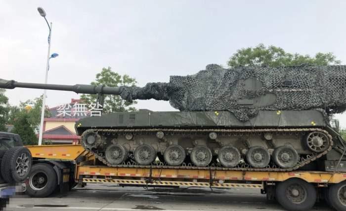Китай, САУ, самоходка, PLZ45, PLZ-05,