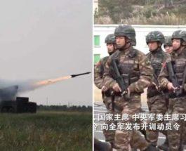 Китай, армия, война, боевая готовность,