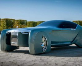 Концепт, Rolls-Royce 103EX, электромобили,