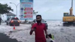 Мини-цунами обрушилось на Манадо в Северном Сулавеси, Индонезия, шокировав жителей и затопив торговые центры (видео)