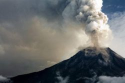 Произошло извержение вулкана Мерапи