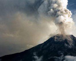 Мерапи, вулкан, извержение,