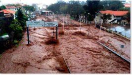 Наводнения, Танзания, Аргентина, Бразилия,