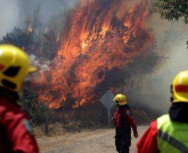 Пожары, Чили,
