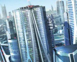 Саудовская Аравия, город будущего,