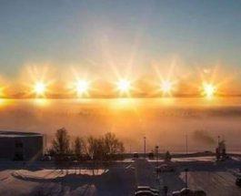 Солнце, Аляска, Уткиагвик,